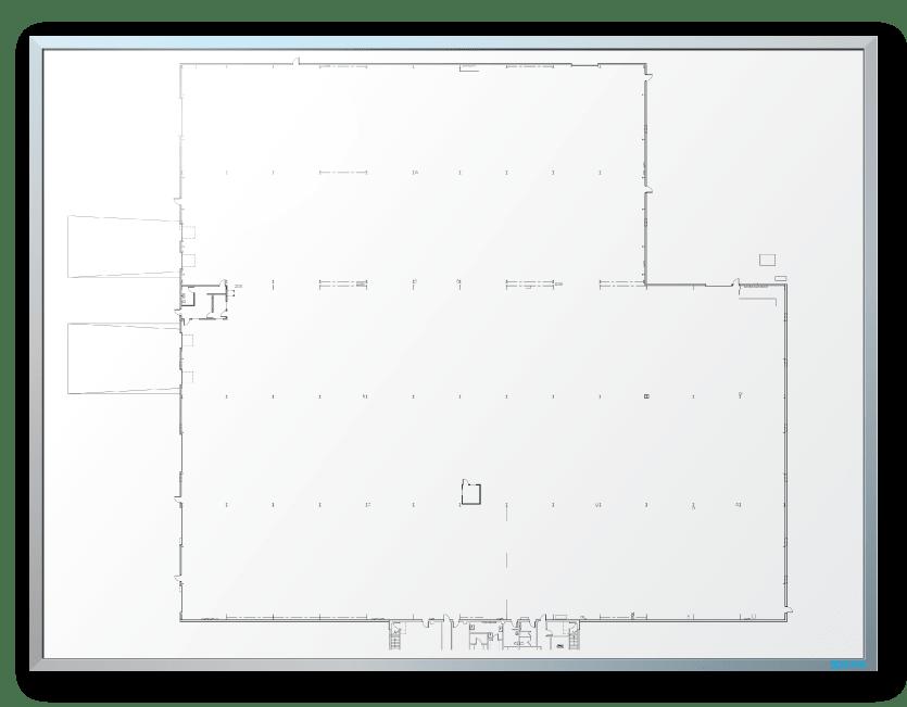 Ambaflex Floor Plan/Architectural Dry Erase Board