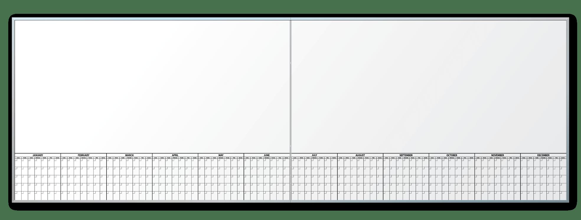 Robert Longo Studios Oversized Calender Dry Erase Board